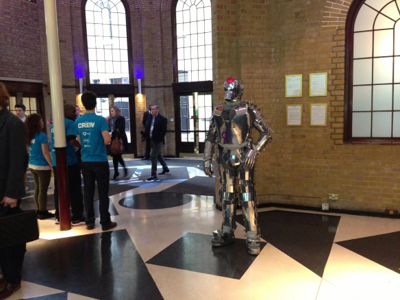 Quite an entrance: the London Web Summit