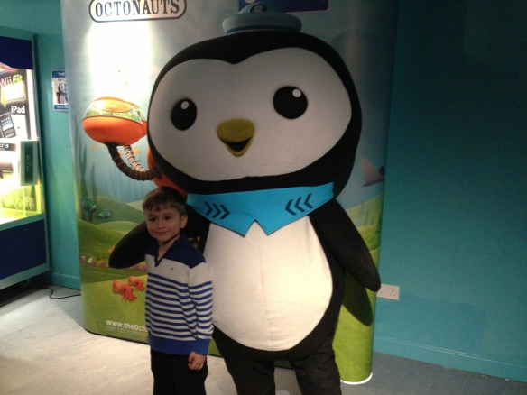 Owen and Peso, National Sealife Centre, Birmingham