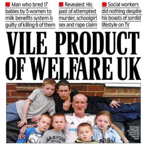 Hate crime: Daily Mail's Philpott front page