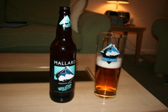 Raising a glass to Mallard...