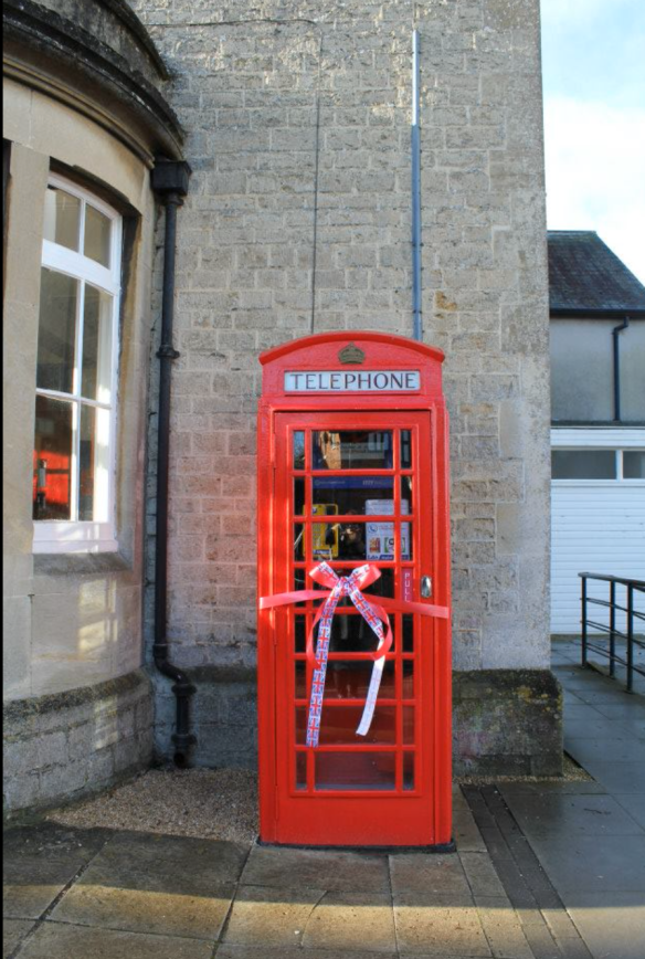Purton phone box