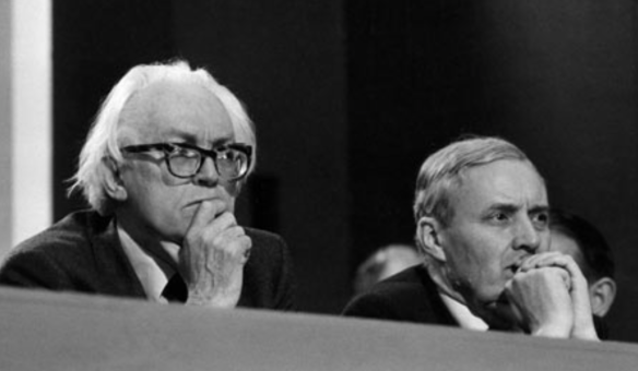Firebrands: Michael Foot and Tony Benn at Labour's 1980 conference