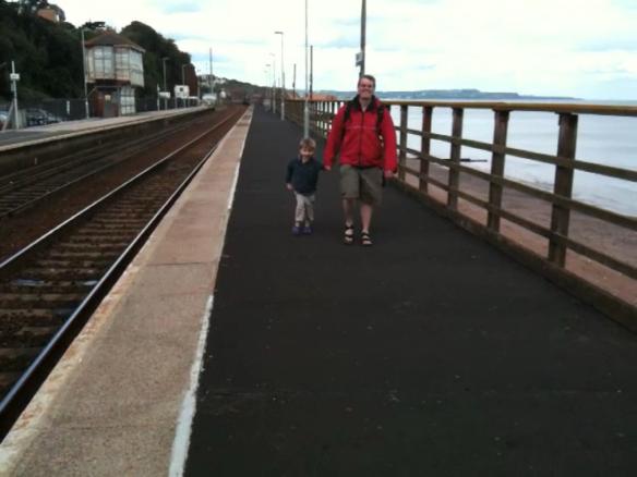 On Dawlish station June 2011