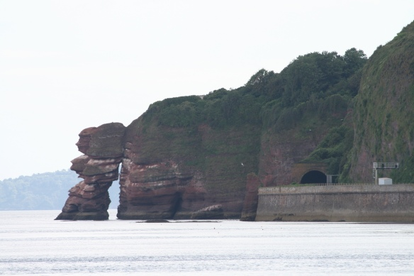 The Great Western main line, Dawlish