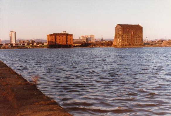 Cardiff Bay before regeneration