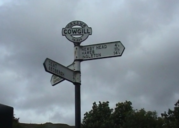 Yorkshire signpost