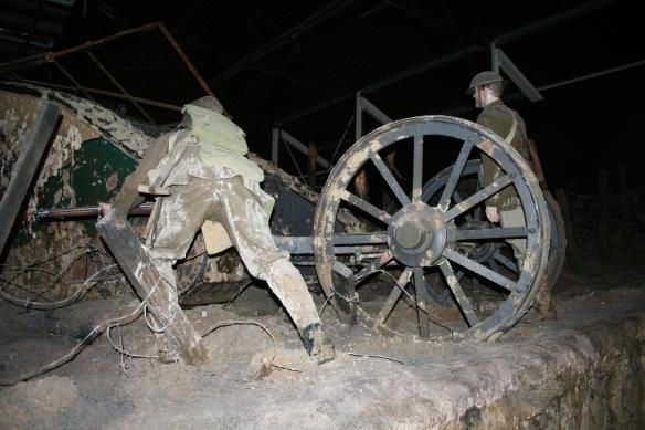 Display at the Tank Museum, Bovington, Dorset