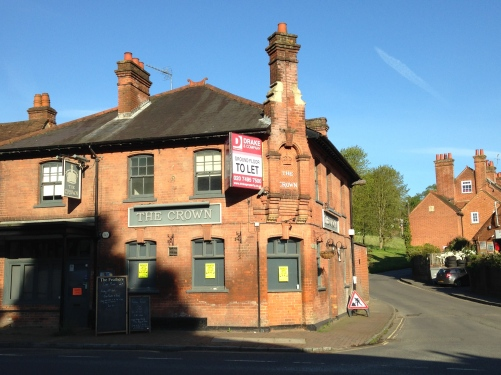 Captain Mainwaring's bank, The Crown Chalfont St Giles