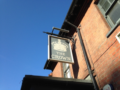 The Crown Chalfont St Giles pub sign