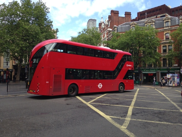 TfL's new Routemaster London bus