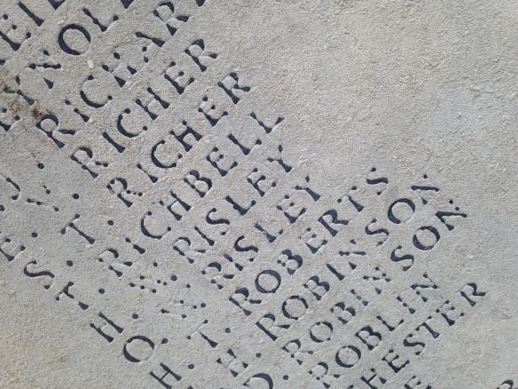 Great War memorial, Richmind
