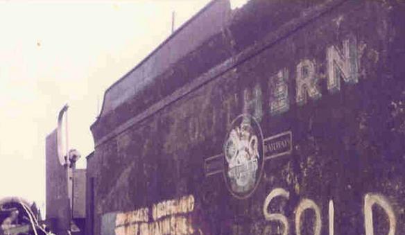 Southern Railway S15 Barry scrapyard
