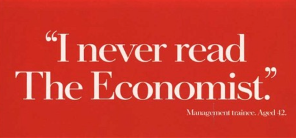 The Economist management trainee advert