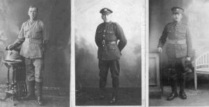 Grandfather and Great Uncle in Great War uniforms