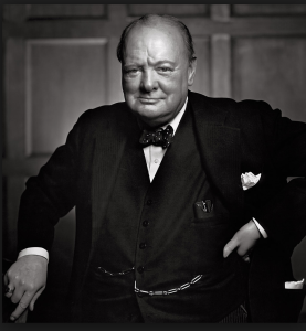 Churchill by Karsh of Ottawa