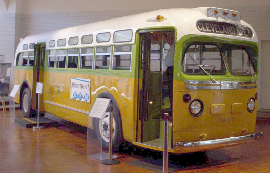 Driving civil rights: Rosa Parks' bus