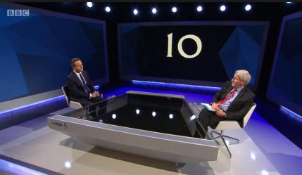Jeremy Paxman grills David Cameron