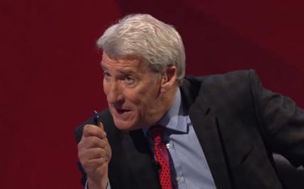 Paxman's presses Miliband