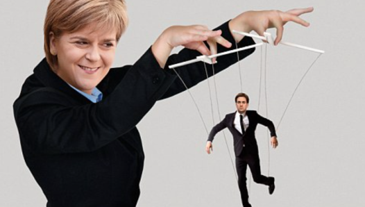 The unionist Tories big up SNP's Sturgeon. Reality will be different