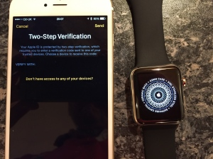 Apple Watch: two factor frustration