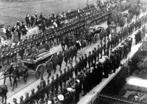 Quintinshill: military funeral in Edinburgh