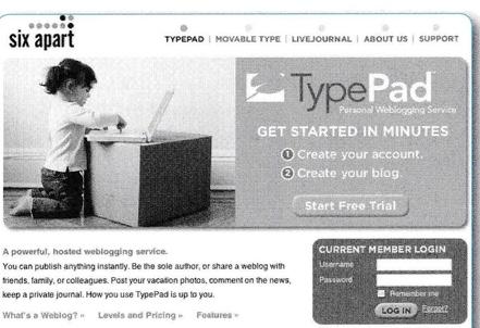 TypePad 2005